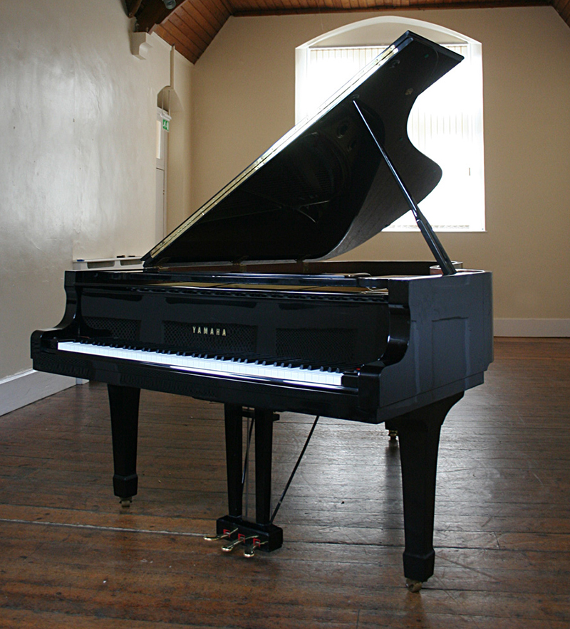 Grand Piano for hire in a large room