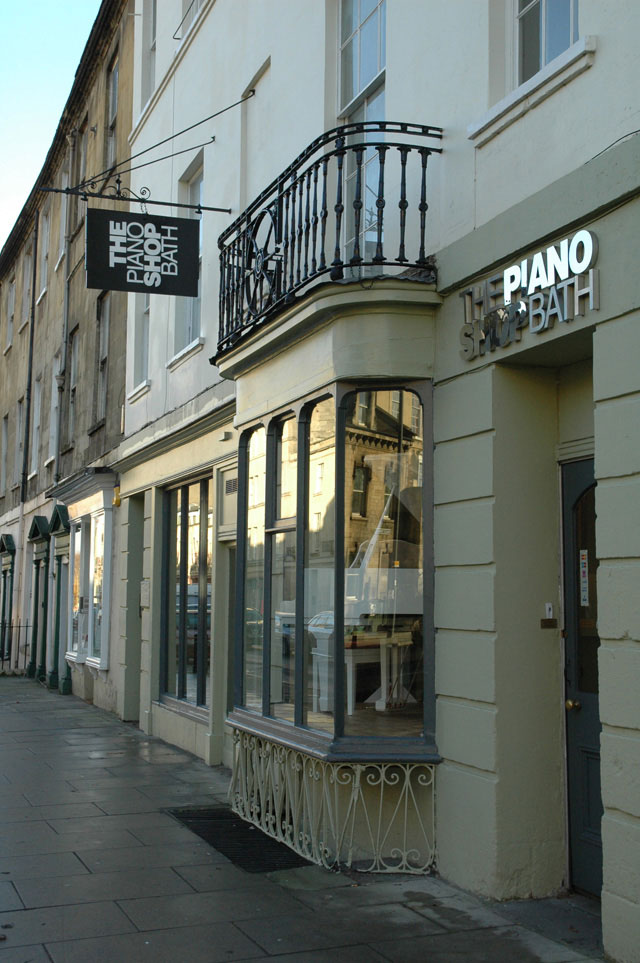 Welcome to The Piano Shop Bath