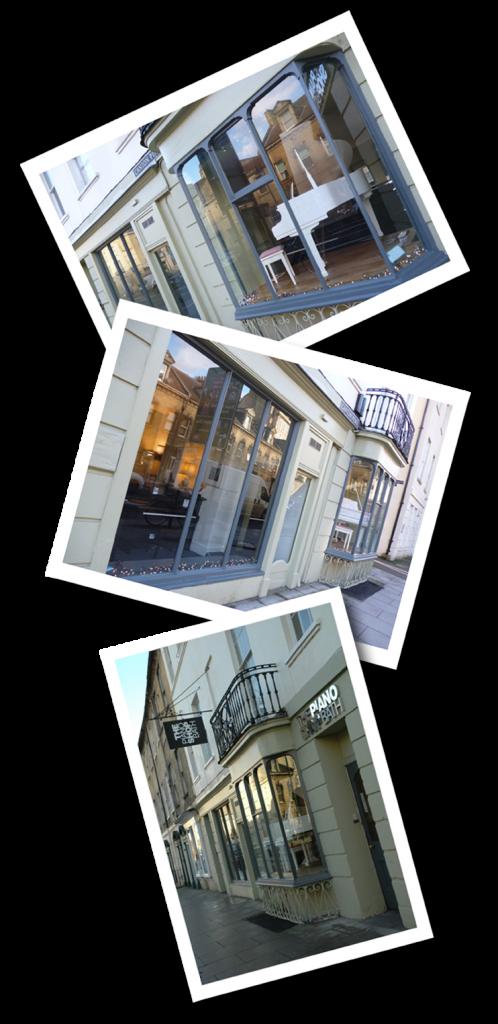 The Piano Shop Bath Windows