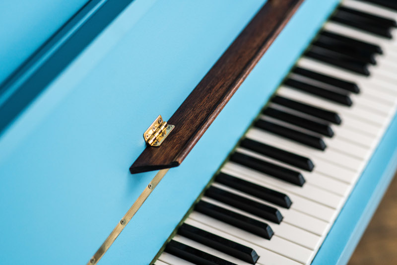 painted pianos to colour the imagination