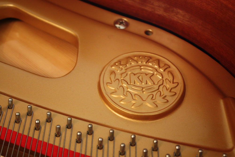 All Kawai acoustic pianos are guaranteed for 10 years
