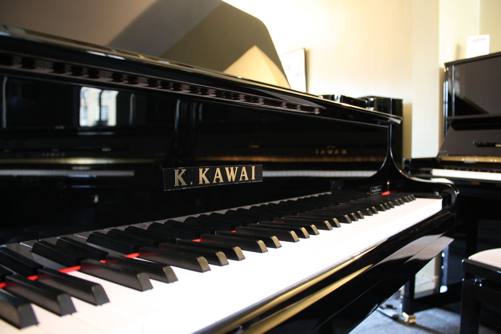 Great range of Kawai acoustic pianos in store
