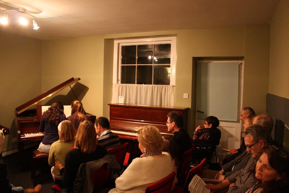 Student Recital at The Piano Shop Bath 30.11.2013