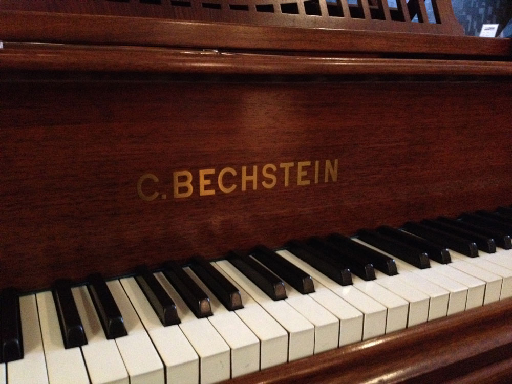 Front view of a Bechstein A2