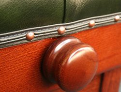 Close up of a Piano Stool