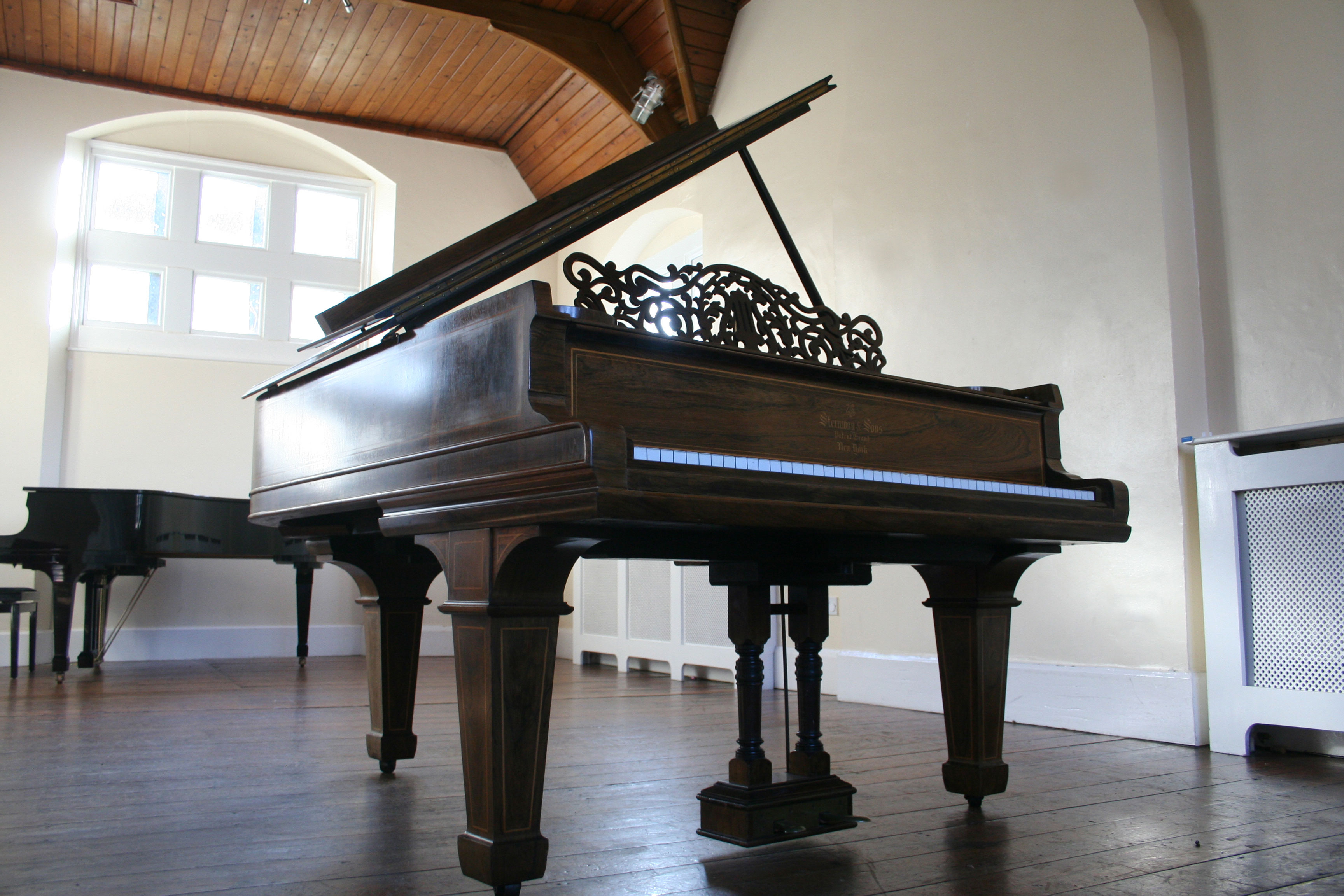 Our Steinway Pianos