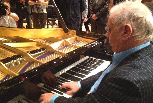 Barenboim Piano | The Piano Shop Bath | Photo: BBC