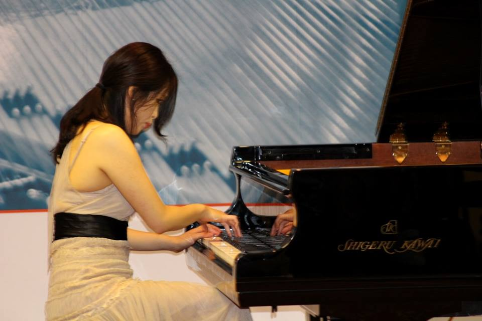 Jenna Sung at the PTA Convention 2015 | The Piano Shop Bath