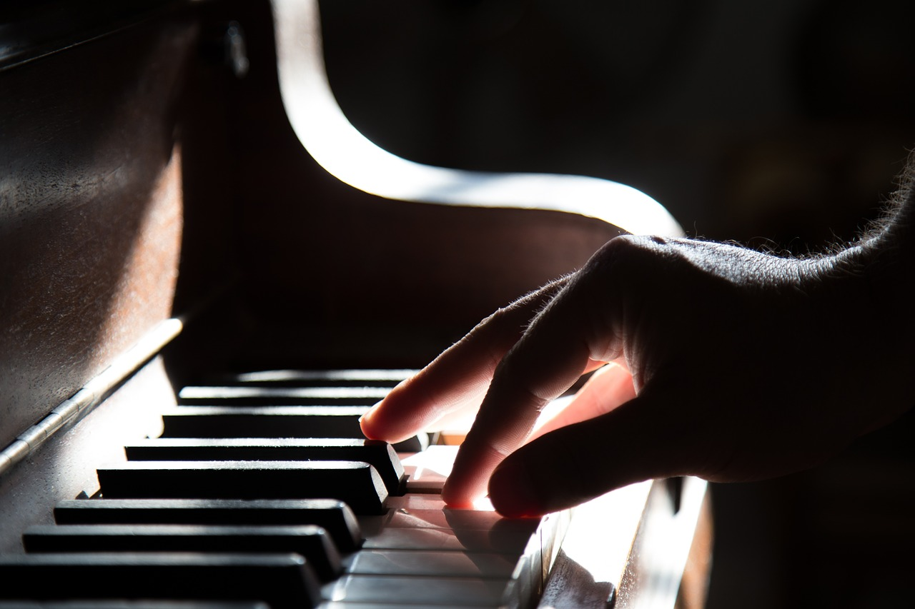 'when learning to play the piano the ability to handle repetition is important'