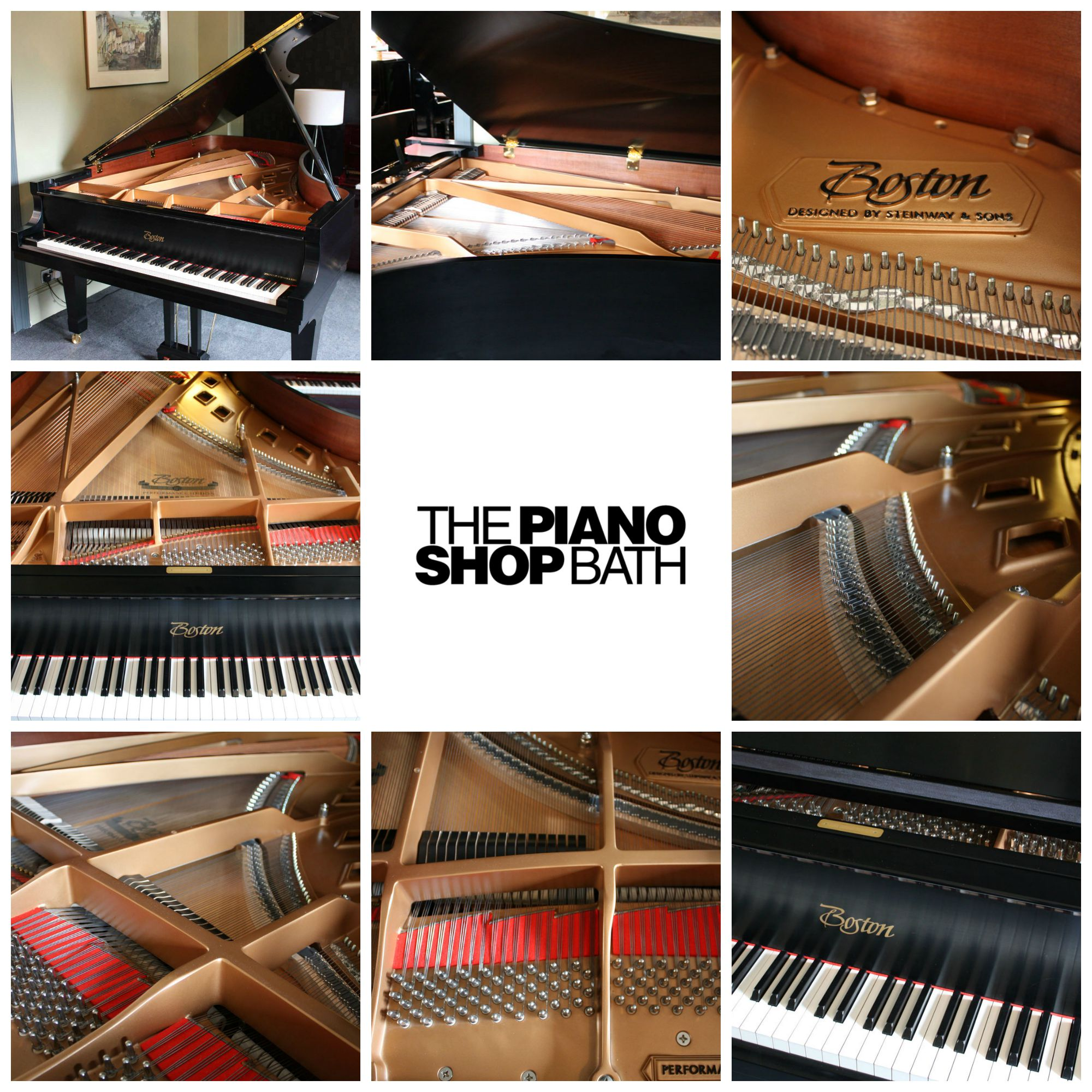 Steinway Boston Grand Piano | The Piano Shop Bath