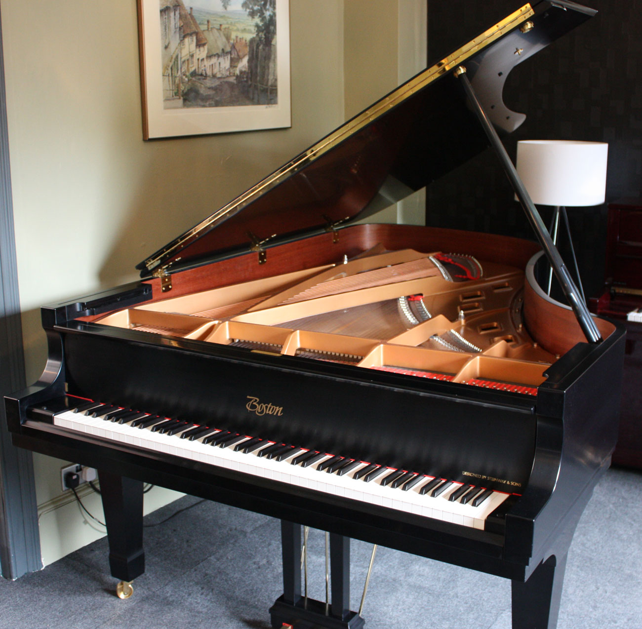 Steinway Boston GP-215 PE Grand Piano for Sale | The Piano Shop Bath