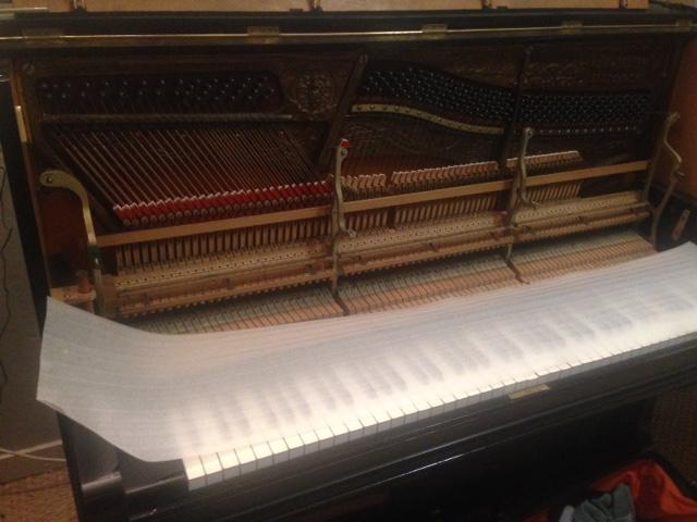 Grotrian Steinweg Model 120 Restored at The Piano Shop Bath