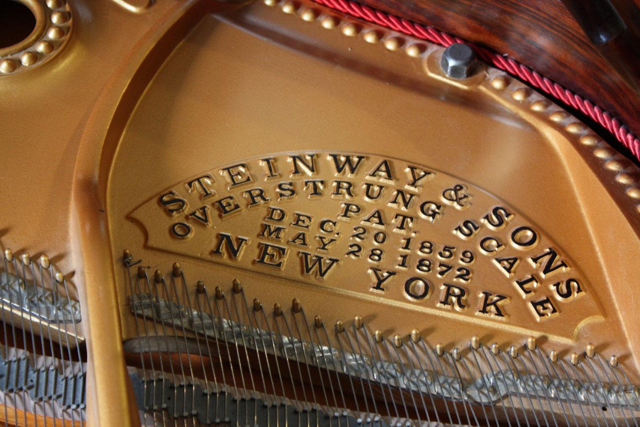 Hand-chosen Steinway Pianos