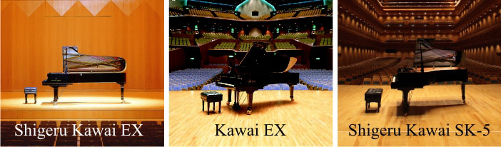 Kawai 3 grand piano sounds