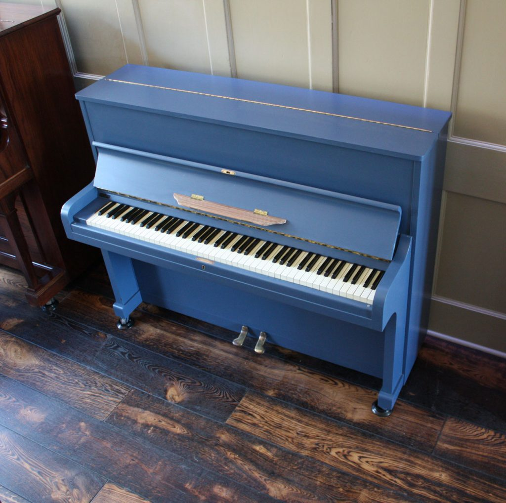 John Broadwood Upright piano in Farrow & Ball paint