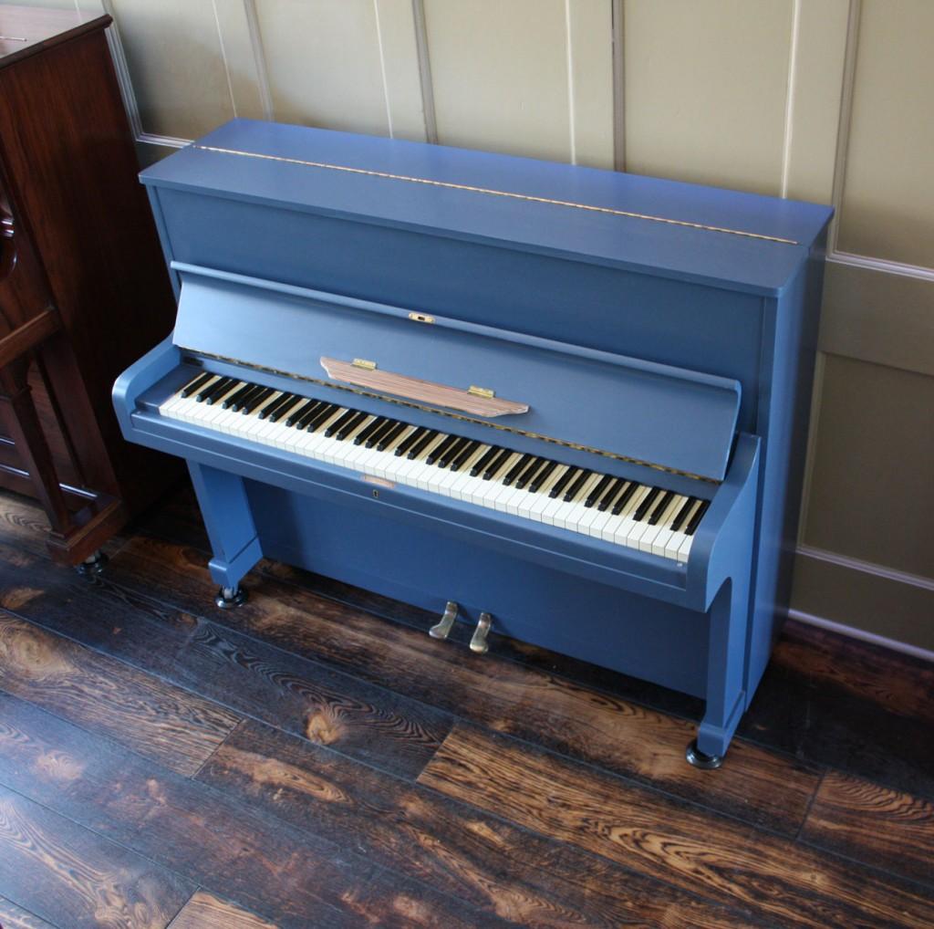 John Broadwood Upright piano in Farrow & Ball paint