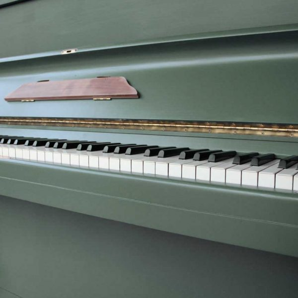Green Smoke Painted Piano