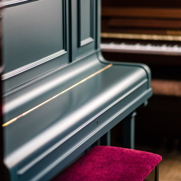 Painted Secondhand Piano