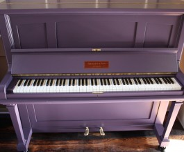 Challen & Son Upright Piano painted in Farrow & Ball