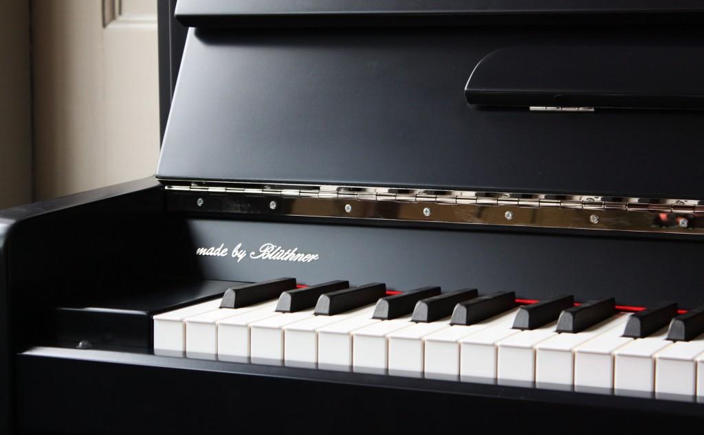 Haessler K-124 Upright Piano