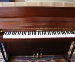 Chappell Upright Piano in Satin Rosewood