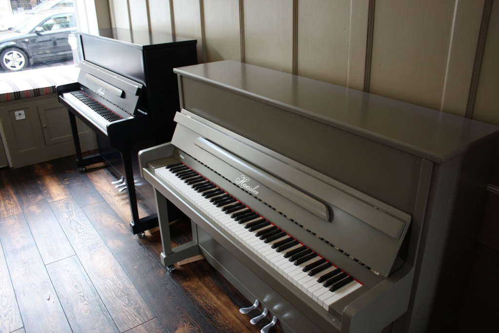 Haessler painted pianos