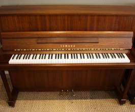 Yamaha P116E Upright Piano