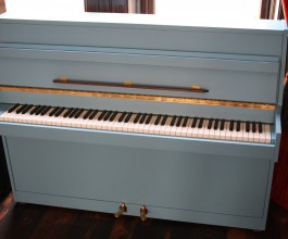 Spencer Painted Upright Piano