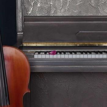 88 Keys - Sculpted Silver