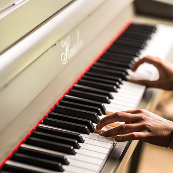 Haesller Painted Piano