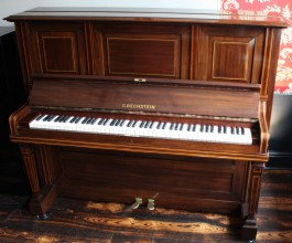 Restored Bechstein Upright Piano