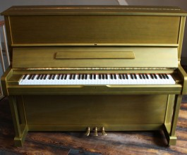 Yamaha U1 Painted Piano