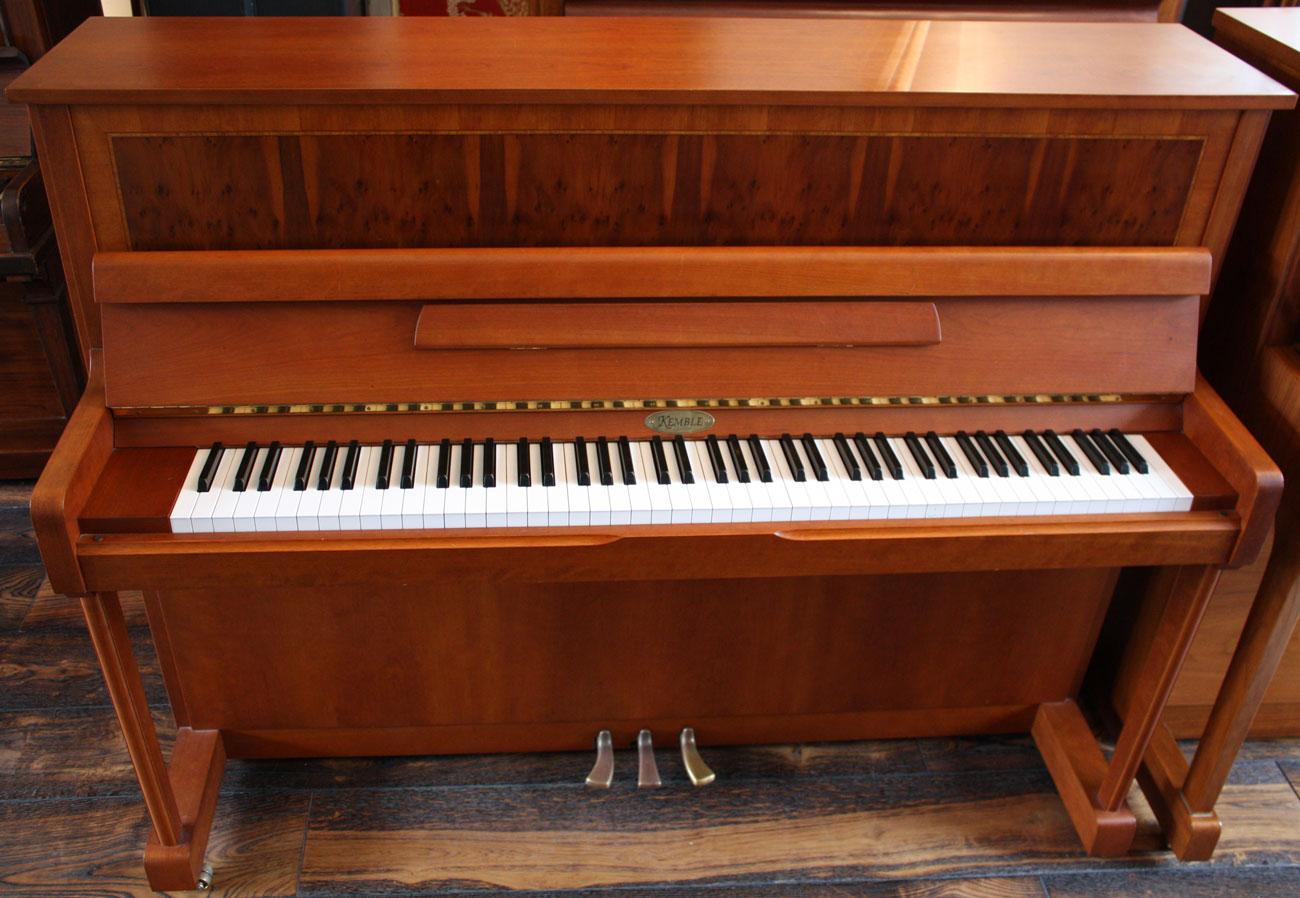 kemble upright piano. Black Bedroom Furniture Sets. Home Design Ideas