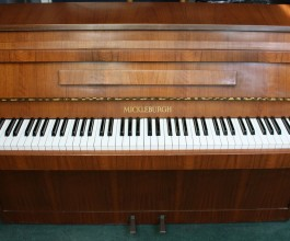 Mickleburgh Mahogany Upright Piano