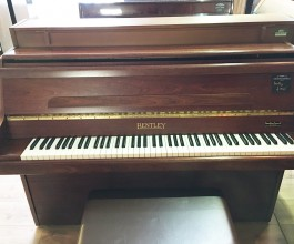 Bentley Rosewood Upright Piano