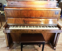 Challen Walnut Upright Piano