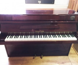 Fuchs & Mohr Dark Rosewood Gloss Upright Piano