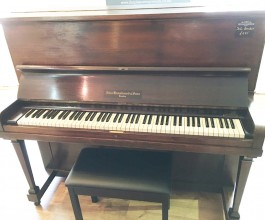 John Broadwood & Son Dark Mahogany Piano