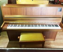 Waldstein Mahogany Upright Piano
