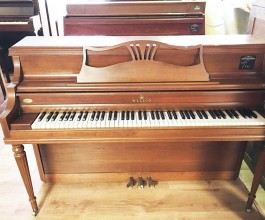 Willis Mahogany Upright Piano