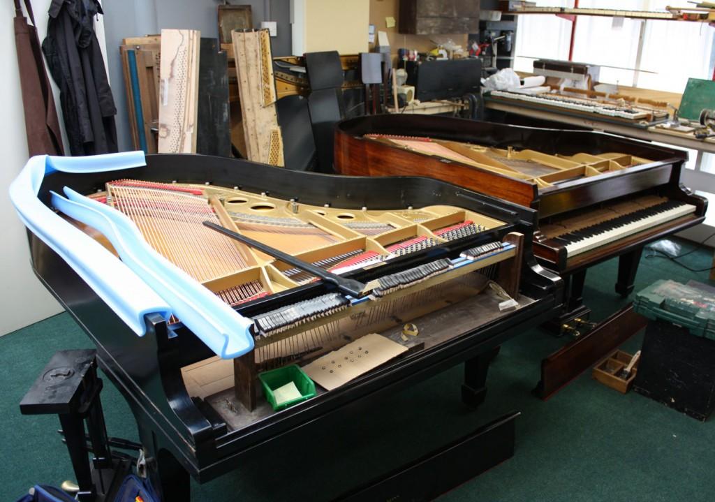 Piano restoration.