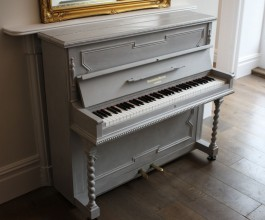 Monington & Weston painted piano