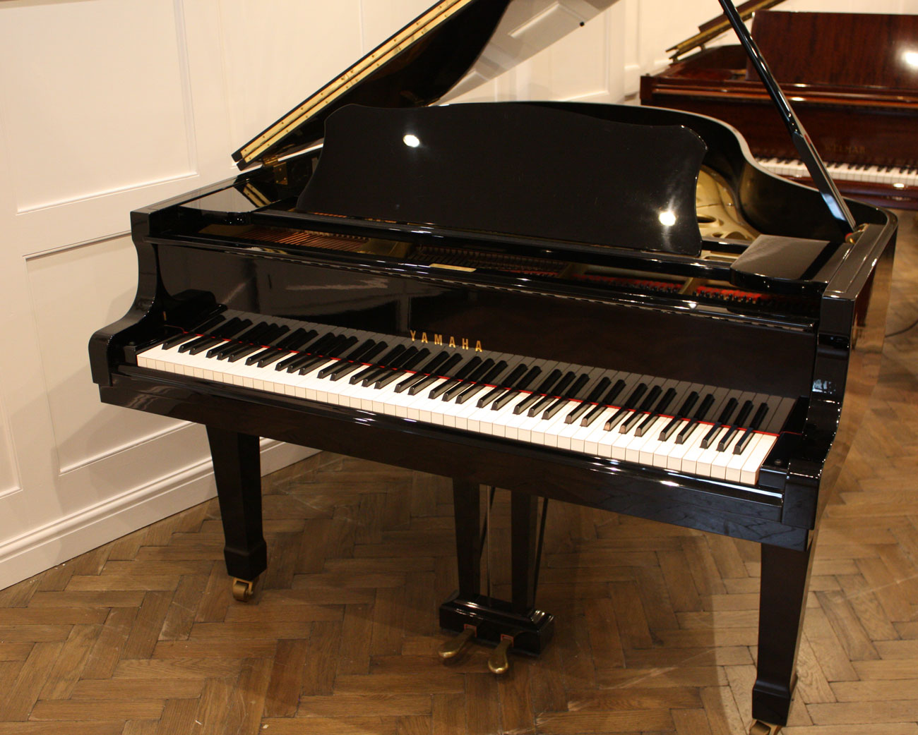 Yamaha c3 grand piano for G service bagnolo in piano