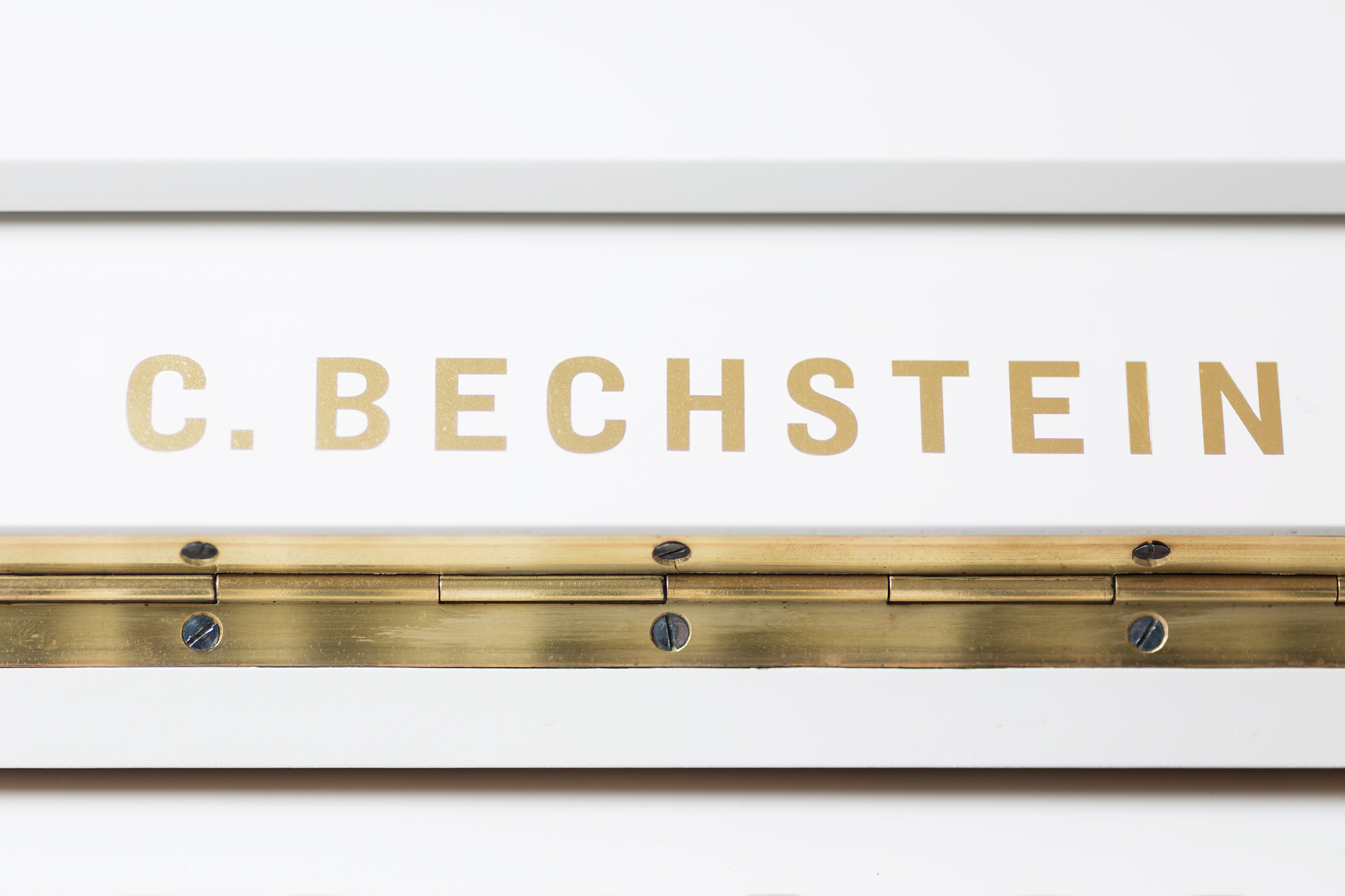 C.Bechstein Painted Upright Piano