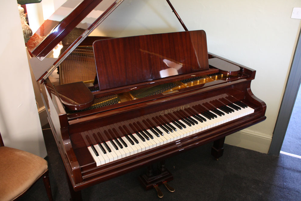 Restored bechstein model a grand piano 1910 for Big grand piano