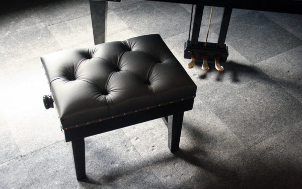Solo Concert Piano Stool in Black