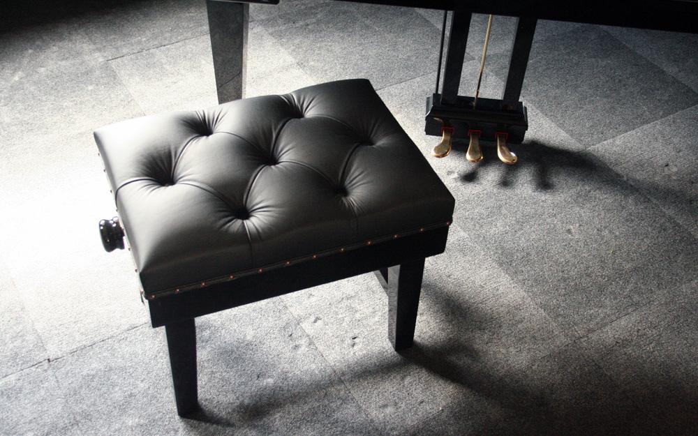 Solo Concert Piano Stool in Black