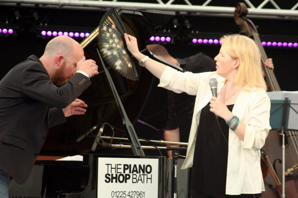 Clare Teal at the Marlborough Jazz Festival