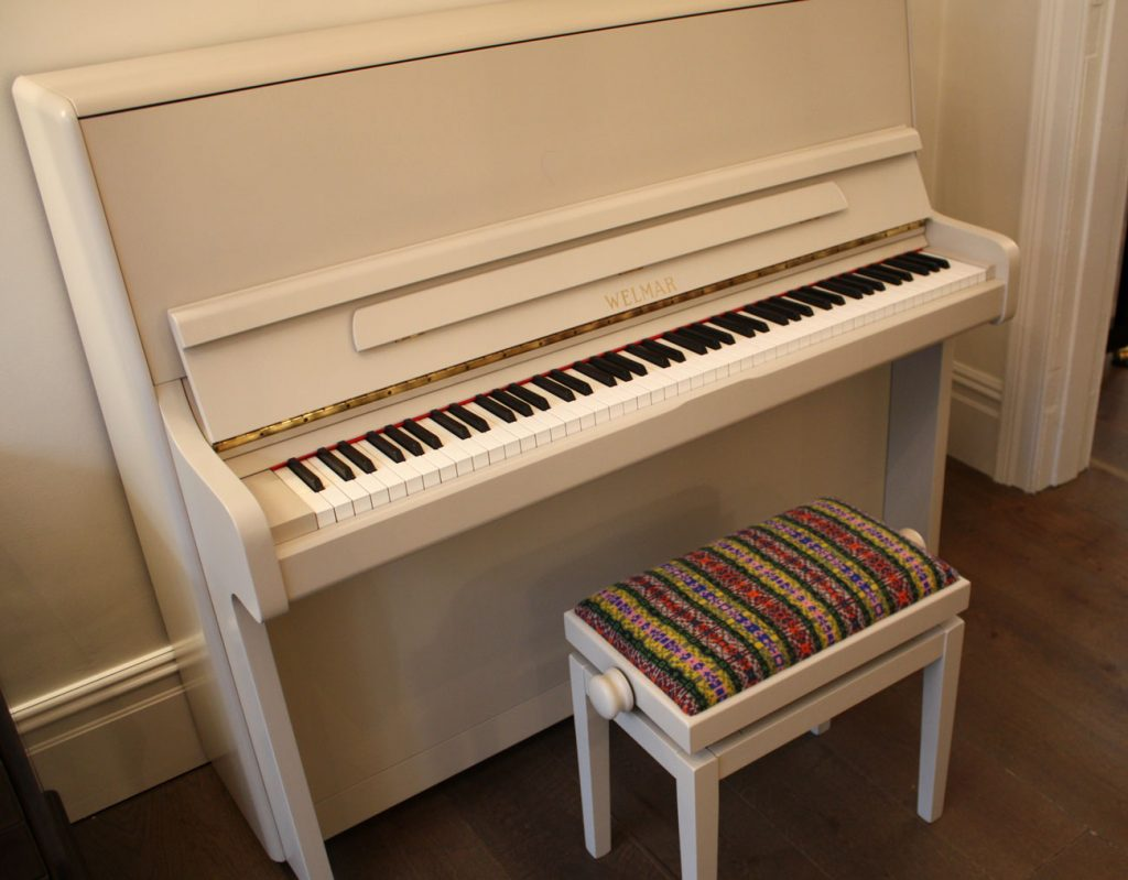 Welmar Upright Painted Piano