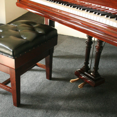 Solo Concert Piano Stool in Green